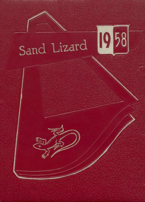 1958 Yearbook Cover