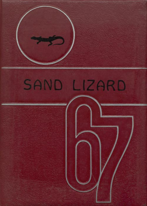 1967 Yearbook Cover