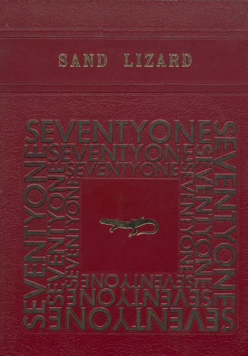 1971 Yearbook Cover