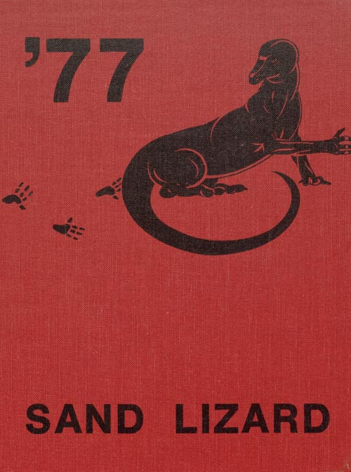 1977 Yearbook Cover