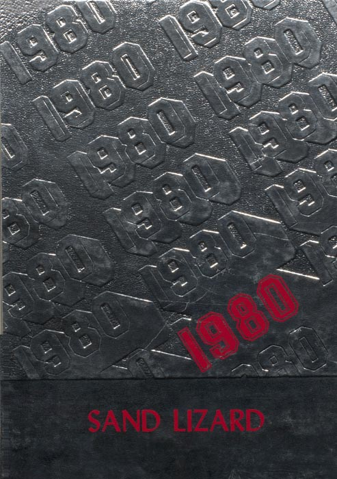 1980 Yearbook Cover