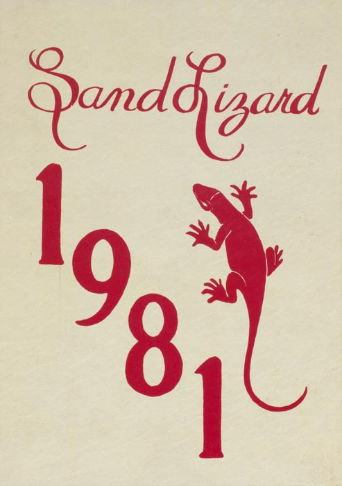 1981 Yearbook Cover