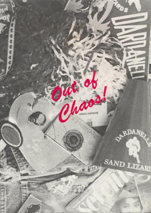 1988 Yearbook Cover