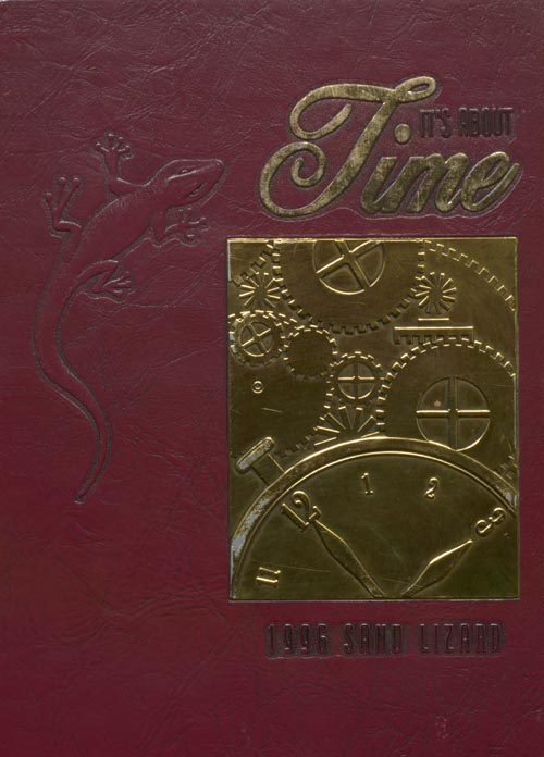 1996 Yearbook Cover