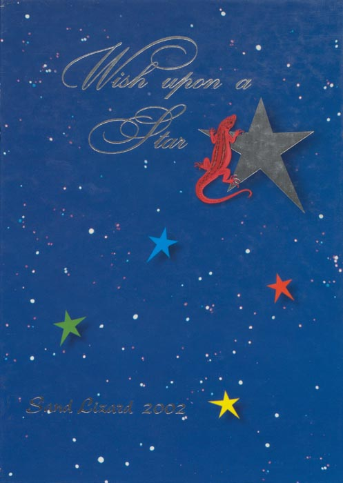 2002 Yearbook Cover