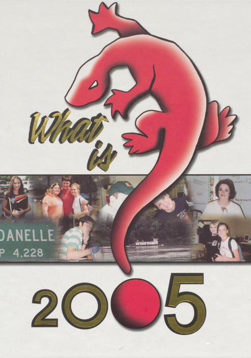 2005 Yearbook Cover